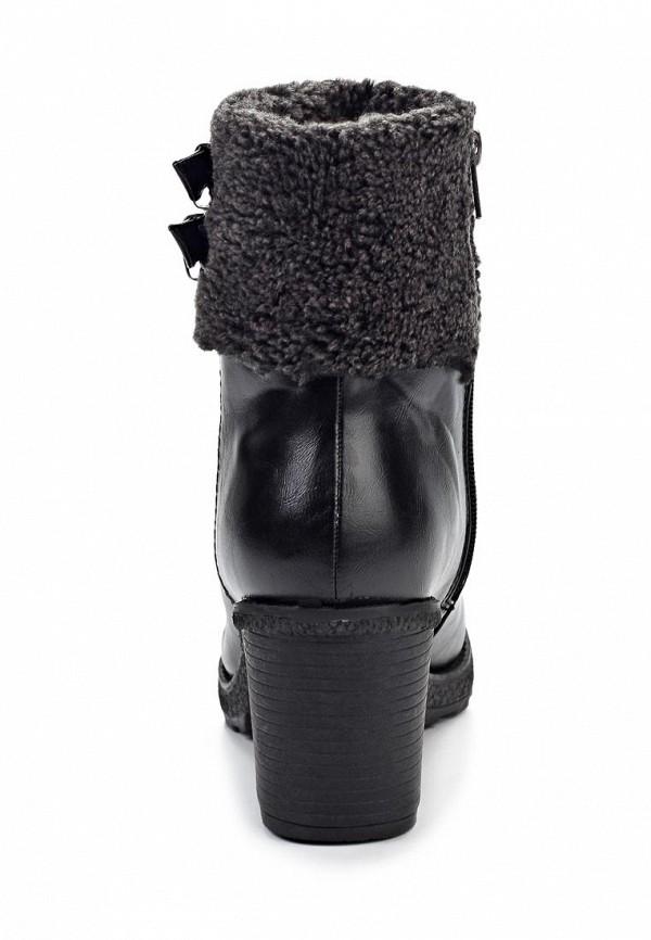 фото Женские полусапожки на толстом каблуке Betsy BE006AWJJ927, черные