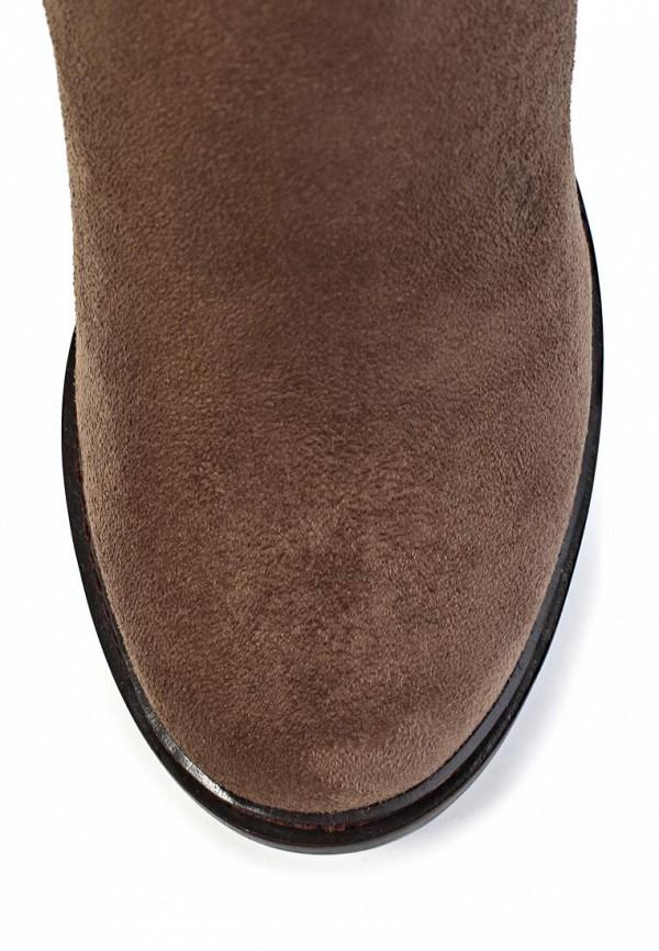 фото Полусапоги на толстом каблуке J&Elisabeth BE006AWJK009, коричневые