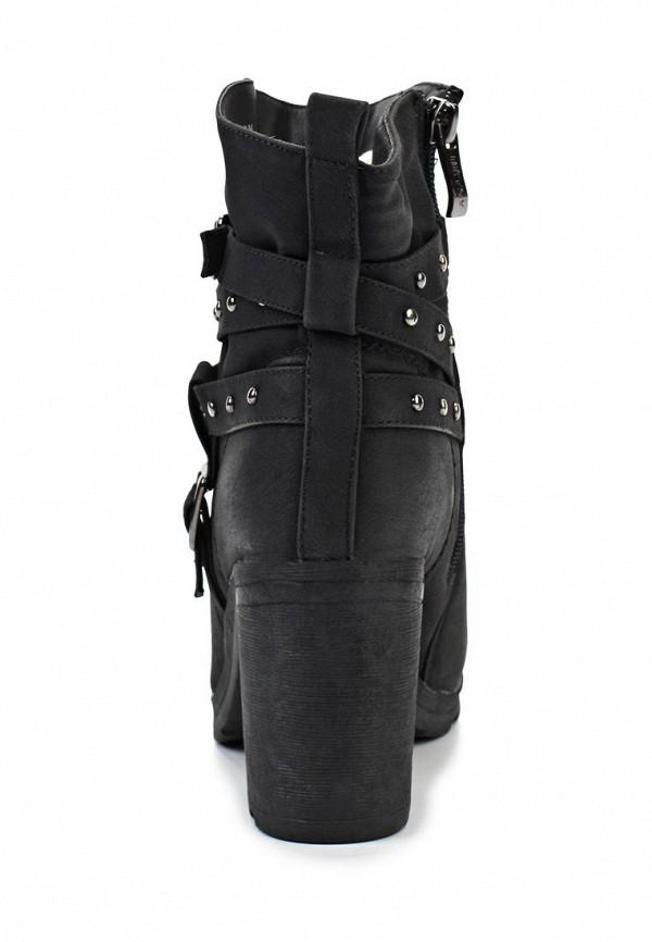 фото Ботильоны на толстом каблуке Betsy BE006AWJK028, черные