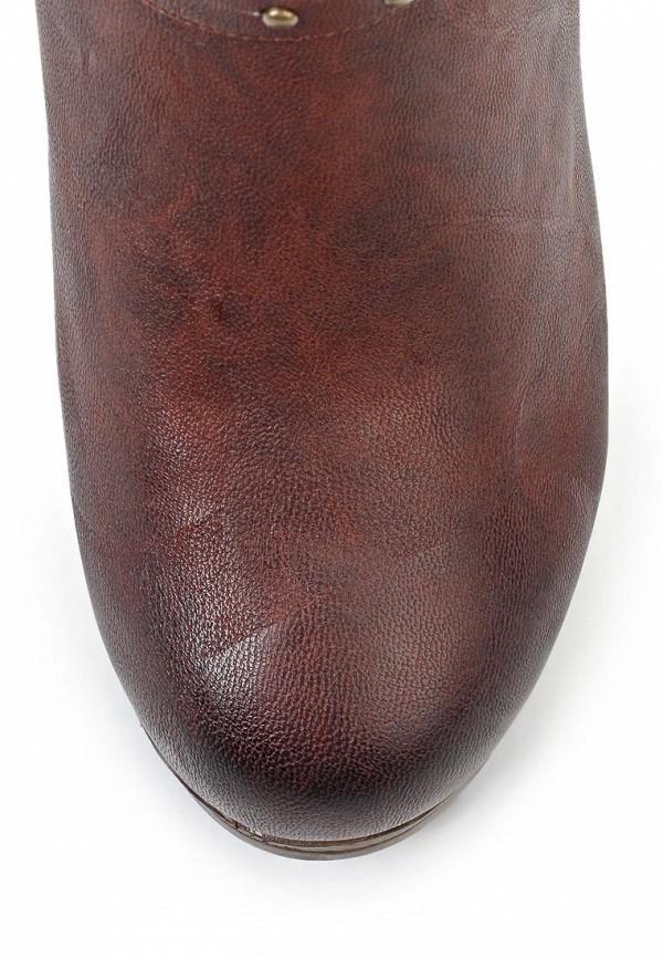 фото Ботильоны на толстом каблуке Betsy BE006AWJK030, коричневые