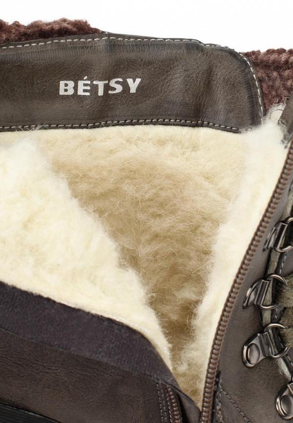 фото Ботильоны на толстом каблуке Betsy BE006AWJK032, со шнуровкой