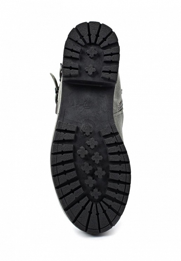 фото Женские полусапожки на каблуке Betsy BE006AWJK038, серые