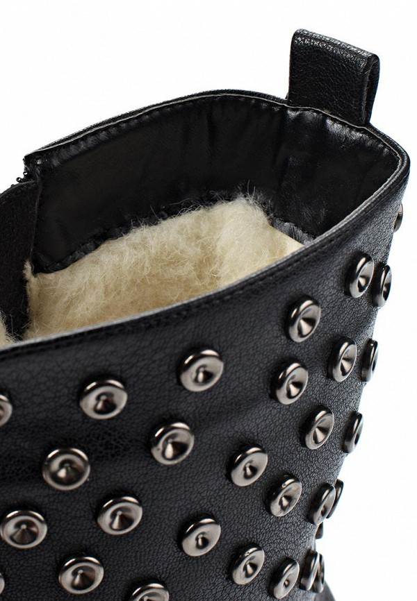 фото Женские полусапоги на каблуке Betsy BE006AWJK040, черные