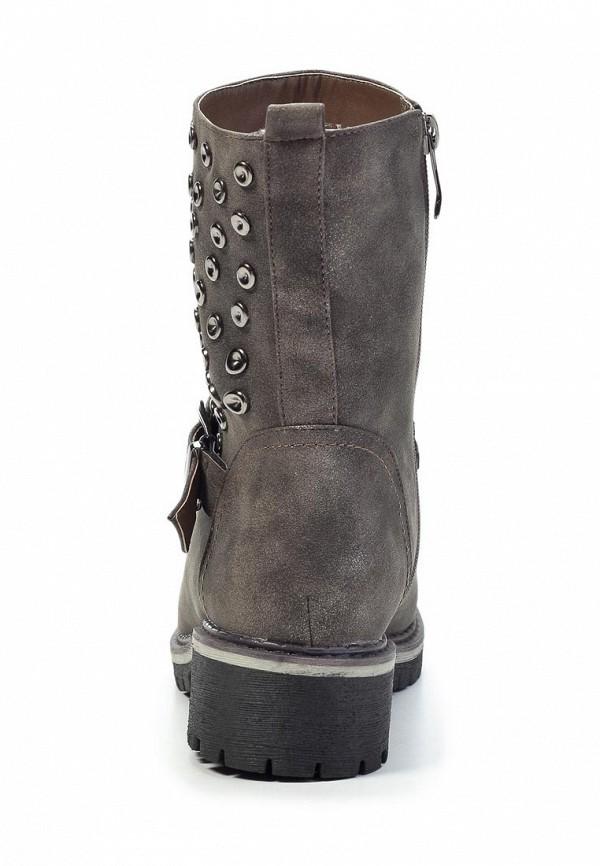 фото Полусапоги женские Betsy BE006AWJK041, серые на каблуке