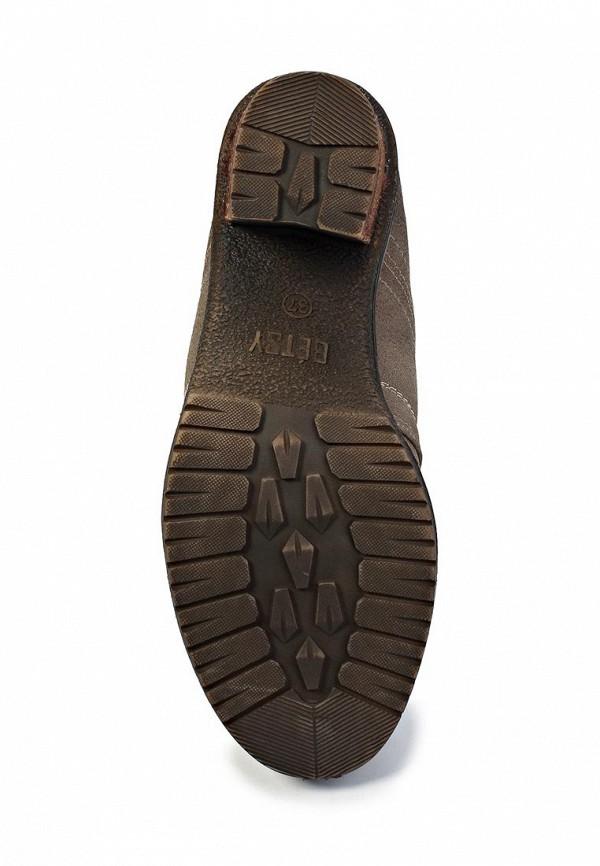фото Ботильоны на толстом каблуке Betsy BE006AWJK083, коричневые