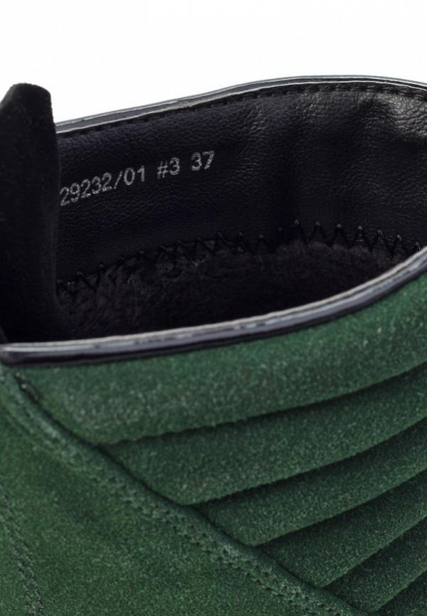 фото Женские полусапожки на платформе Betsy BE006AWJK126, зеленые с молнией
