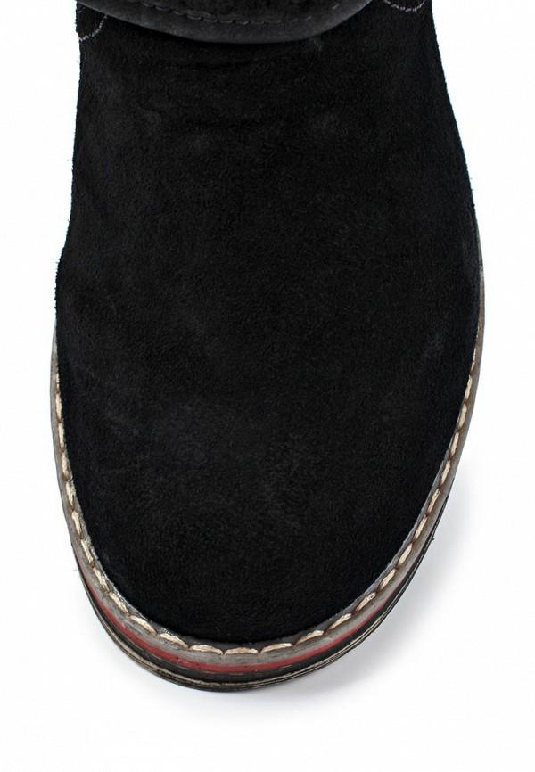 фото Ботинки женские без каблука J&Elisabeth BE006AWJK148, черные