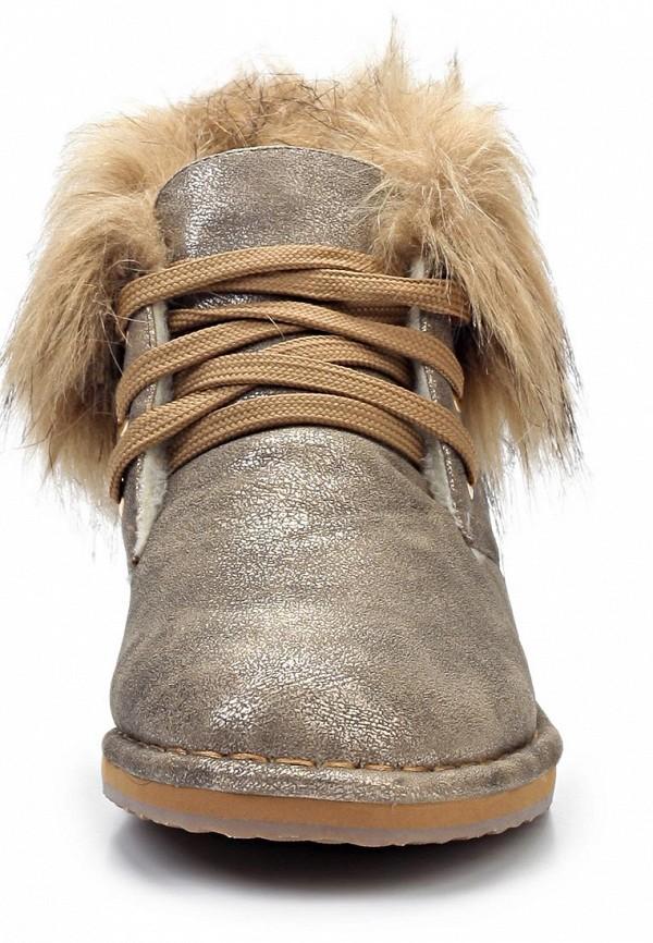 фото Ботинки женские на шнурках Betsy BE006AWJK157, серо-бежевые