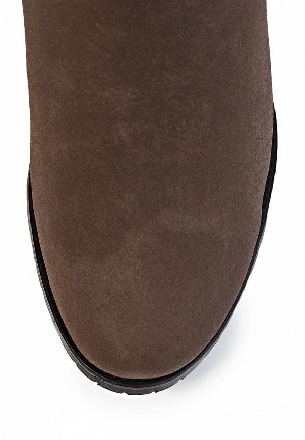 фото Женские полусапожки на каблуке J&Elisabeth BE006AWJK182, коричневые