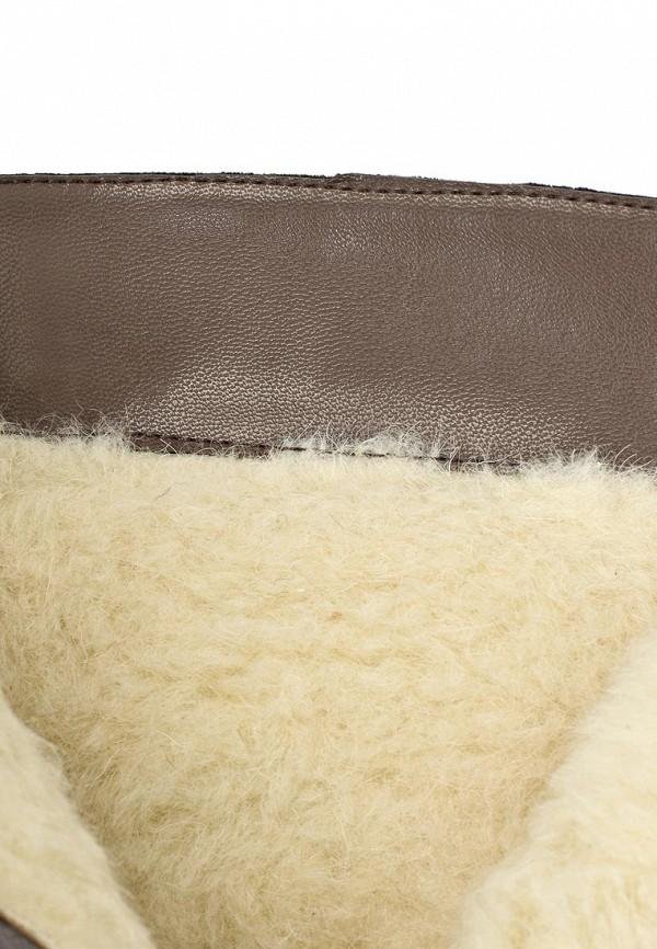 фото Женские полусапожки на каблуке J&Elisabeth BE006AWJK184, коричневые