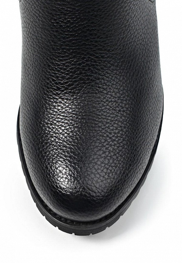 фото Женские полусапожки на толстом каблуке J&Elisabeth BE006AWJK187, черные