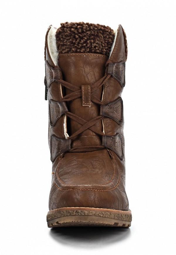 фото Ботильоны на толстом каблуке Betsy BE006AWKT362, коричневые