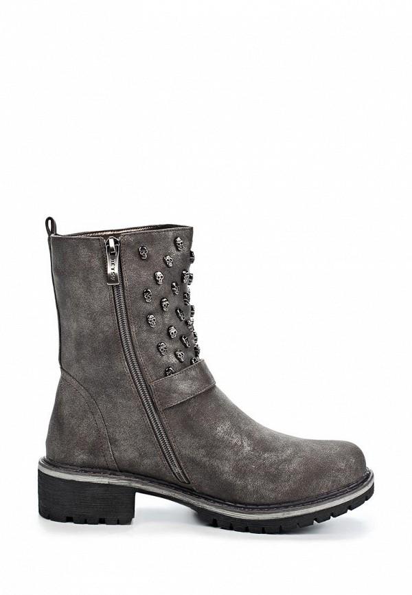 фото Женские полусапоги на каблуке Betsy BE006AWKT411, серого цвета