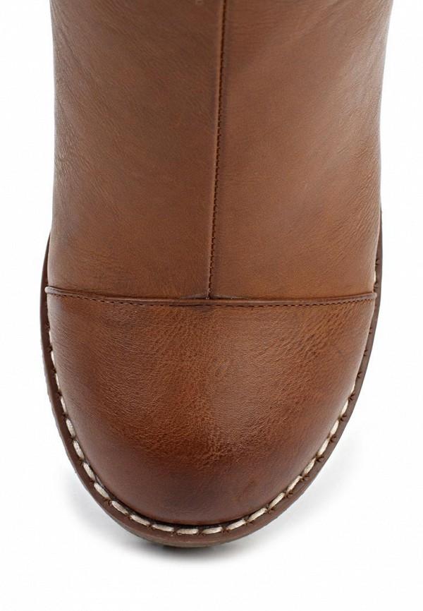 фото Ботильоны на толстом каблуке Betsy BE006AWLA108, коричневые