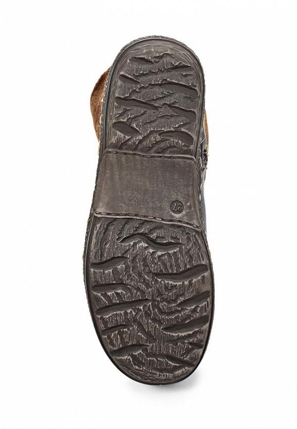 фото Женские полусапожки на плоской подошве Betsy BE006AWLA114, коричневые