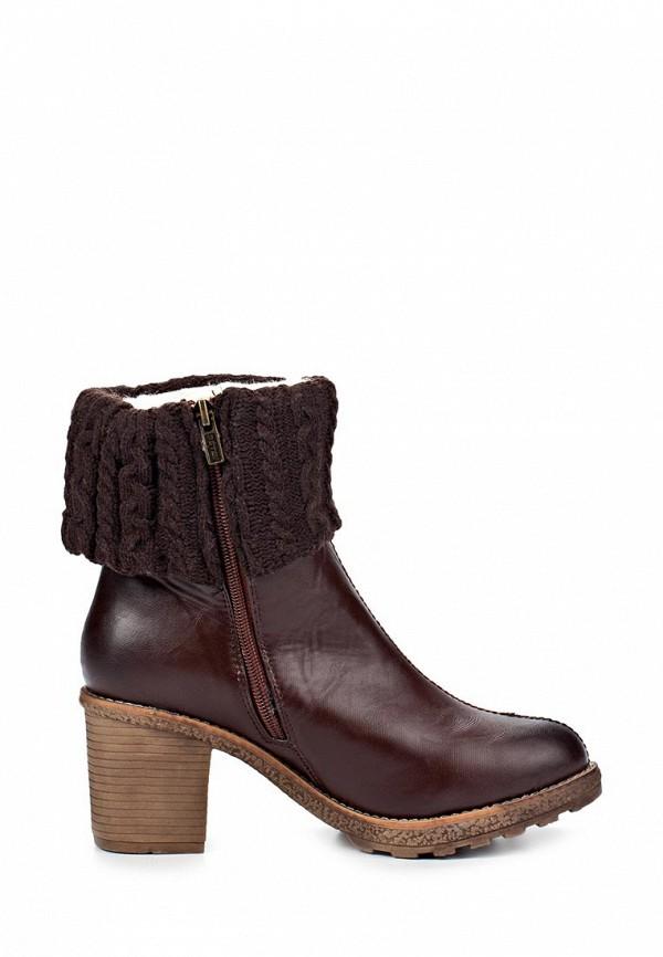 фото Ботильоны на толстом каблуке Betsy BE006AWLA126, коричневые