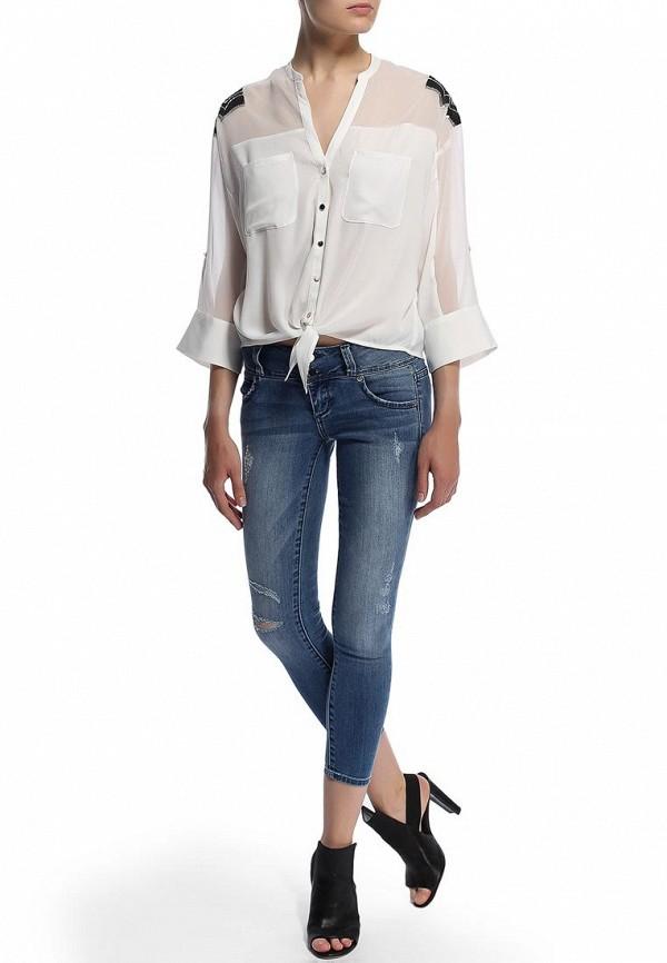 Зауженные джинсы Bebe (Бебе) 30AQ9101S345: изображение 6