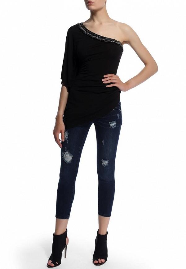 Зауженные джинсы Bebe (Бебе) 30AQ9102S345: изображение 6