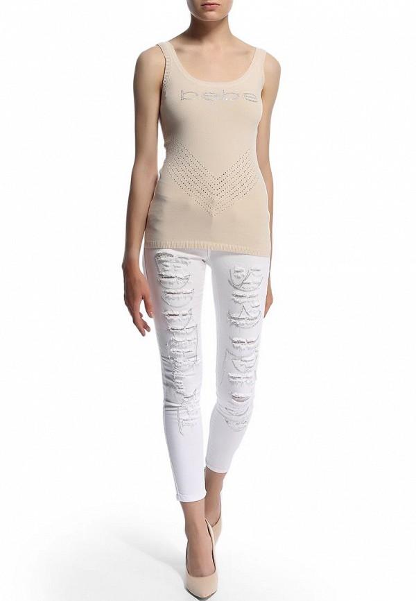 Женские зауженные брюки Bebe (Бебе) 30AW7101Q389: изображение 8