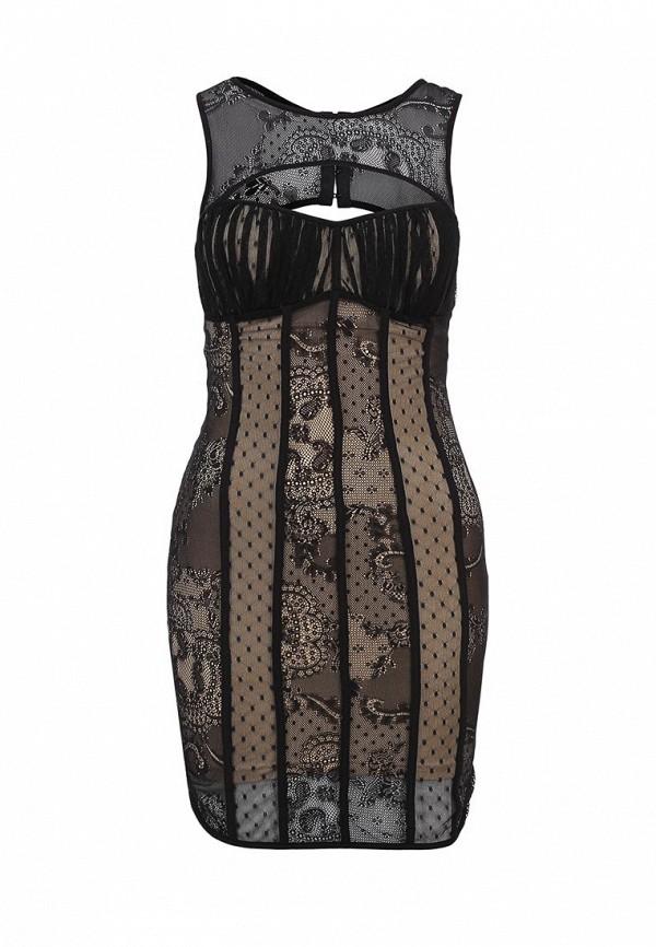 Платье-мини Bebe (Бебе) 70EWZ101L243: изображение 2
