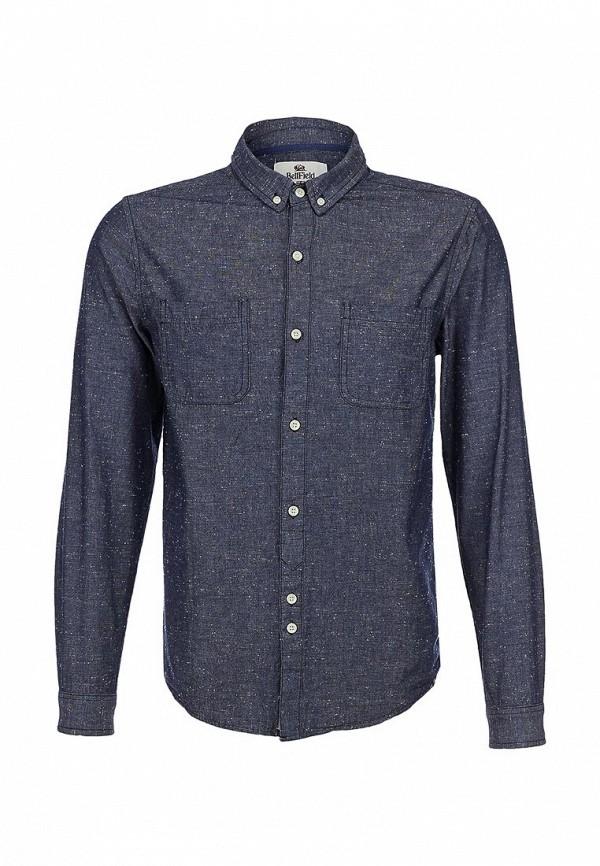 Рубашка Bellfield B Chiba Blue: изображение 1