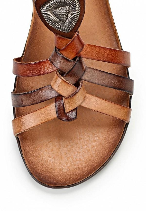 Женские сандалии Benta 6020 VAQUETILLA NUEZ: изображение 6