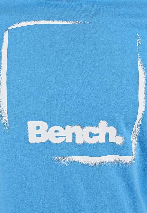 Футболка с надписями Bench 170.BMGA2960..BL152: изображение 4