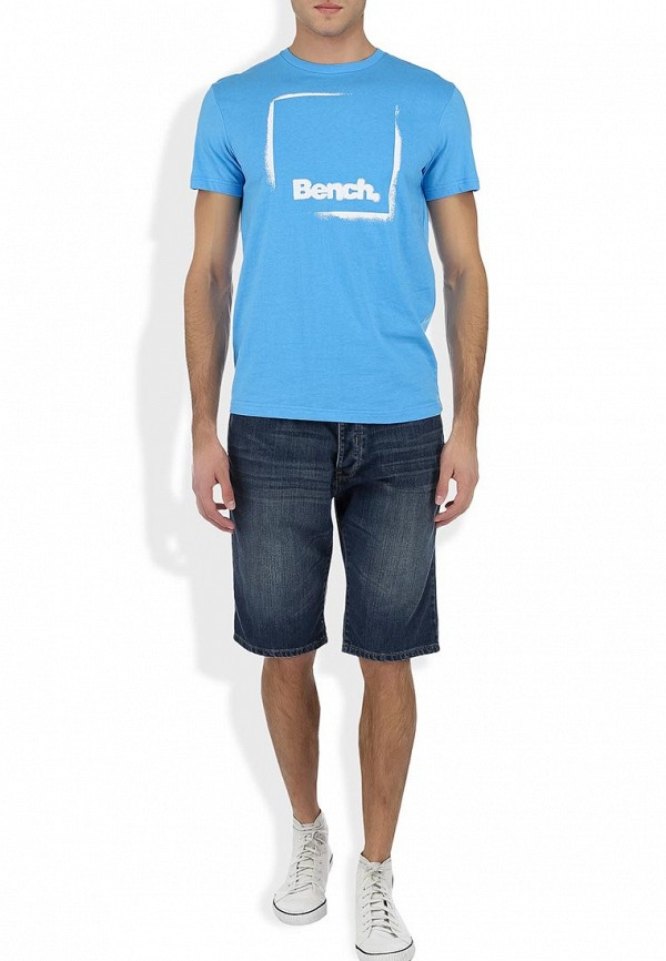 Футболка с надписями Bench 170.BMGA2960..BL152: изображение 6