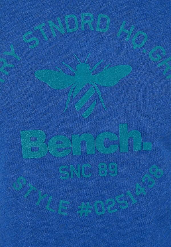 Футболка с надписями Bench 170.BMGA3112..BL030X: изображение 4