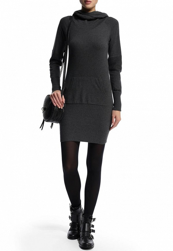 Платье-миди Bench 170.BLSA1575..GY006X: изображение 6