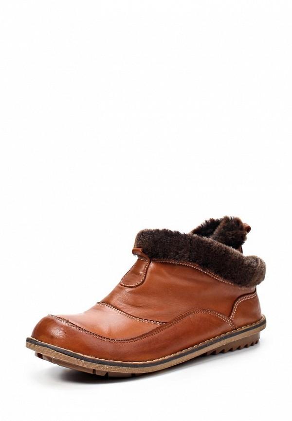 Ботинки Birinci. Цвет: коричневый