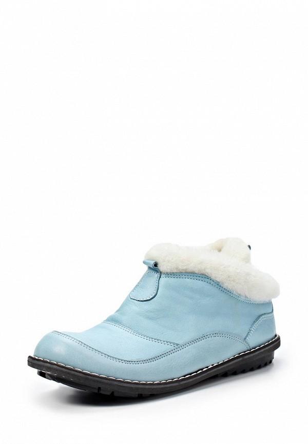 Ботинки Birinci. Цвет: голубой