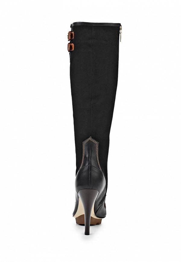 Сапоги на каблуке Birinci 673-siyah/taba: изображение 2