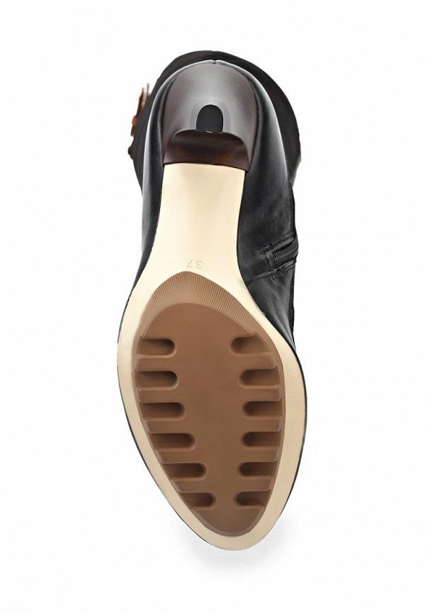 Сапоги на каблуке Birinci 673-siyah/taba: изображение 3