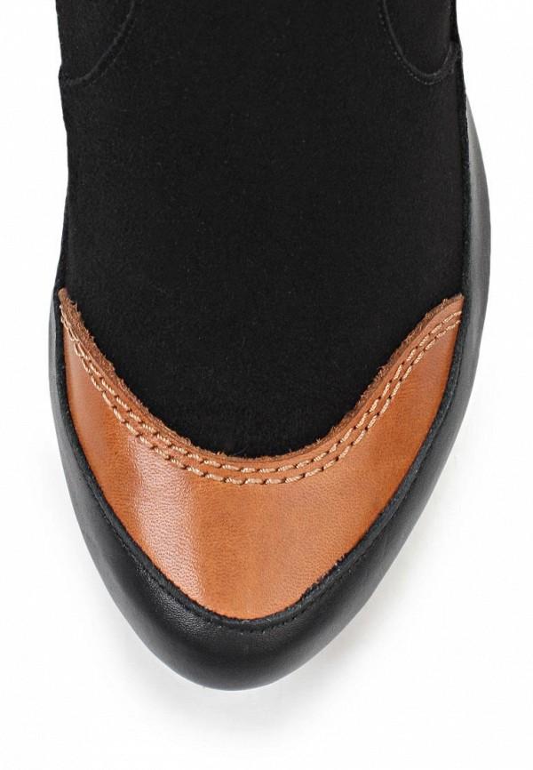 Сапоги на каблуке Birinci 673-siyah/taba: изображение 6