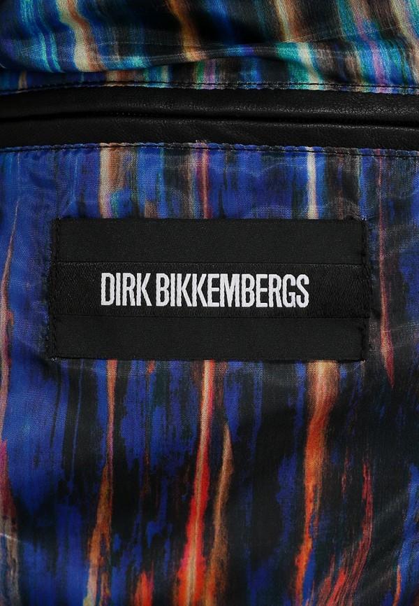 Кожаная куртка Bikkembergs D1DB9109665W999: изображение 3