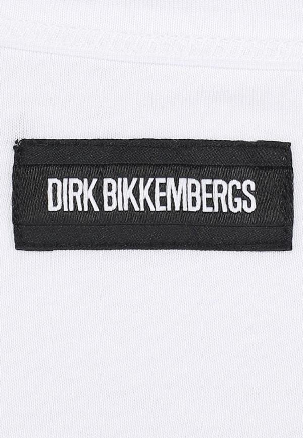 Футболка с надписями Bikkembergs D1DB7320877W800: изображение 5