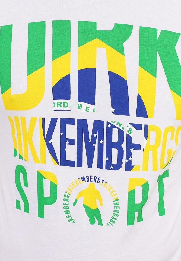 Футболка с надписями Bikkembergs D1DB7320877W800: изображение 13