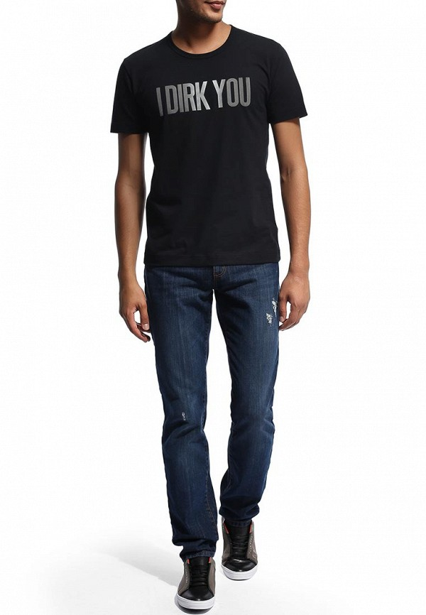 Мужские прямые джинсы Bikkembergs D2DB162CF35W555: изображение 6