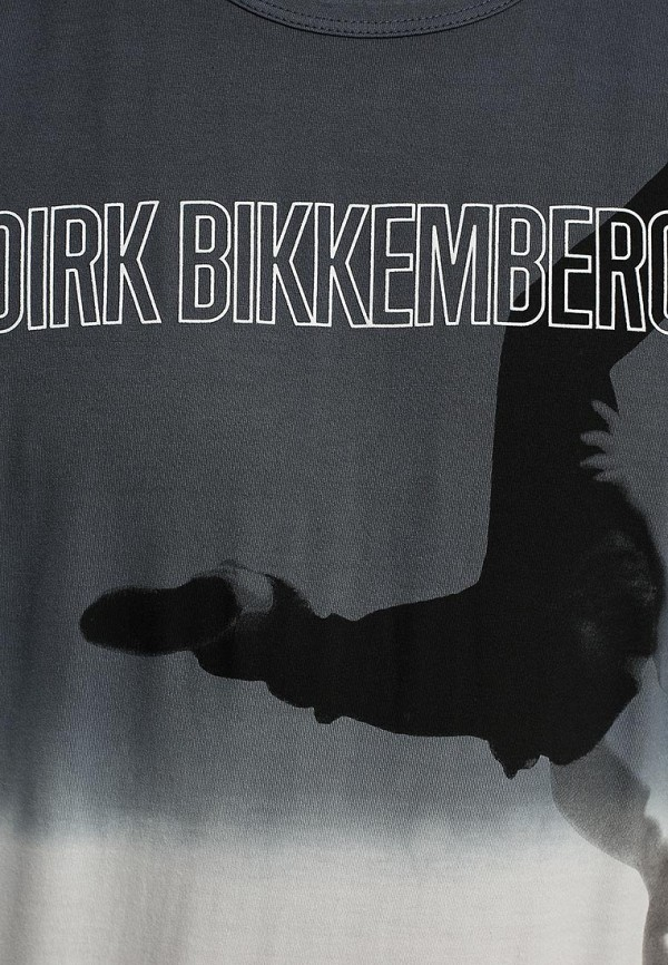 Футболка с надписями Bikkembergs D2DB7500186W999: изображение 12
