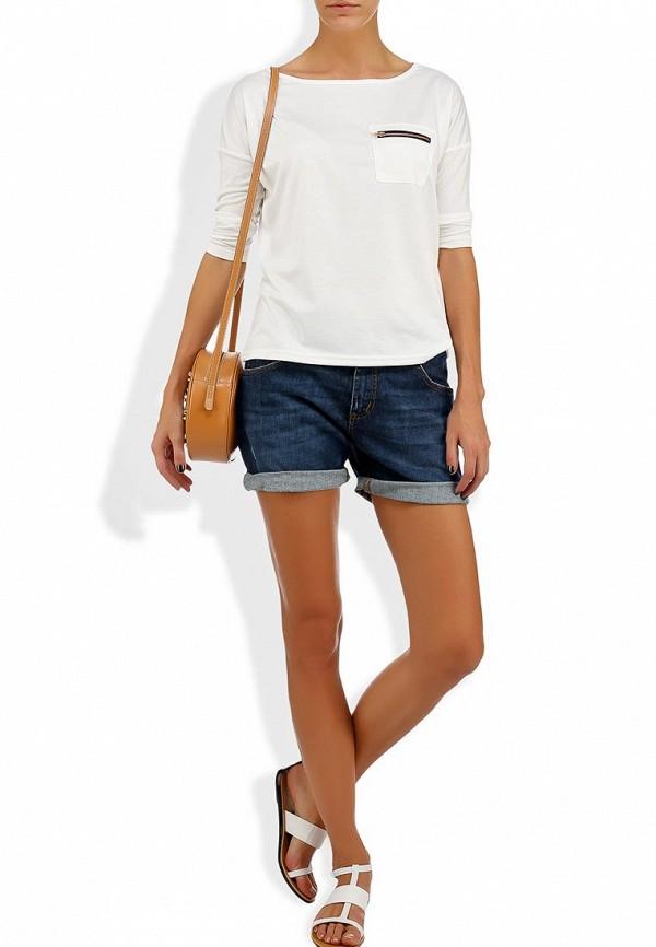 Женские джинсовые шорты Bikkembergs D1DW160DS04P555: изображение 7