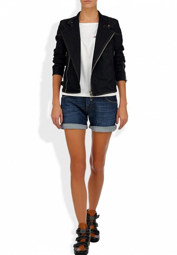 Женские джинсовые шорты Bikkembergs D1DW160DS04P555: изображение 11