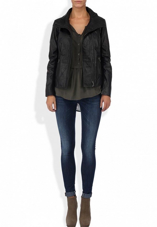 Кожаная куртка Blend (Бленд) 200150: изображение 4