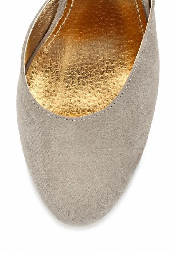 фото Туфли женские на каблуке Blink BL333AWBQN16, серые
