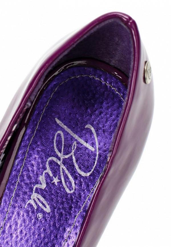 фото Туфли на платформе и каблуке Blink BL333AWBQY98, фиолетовые (кожа, лак)