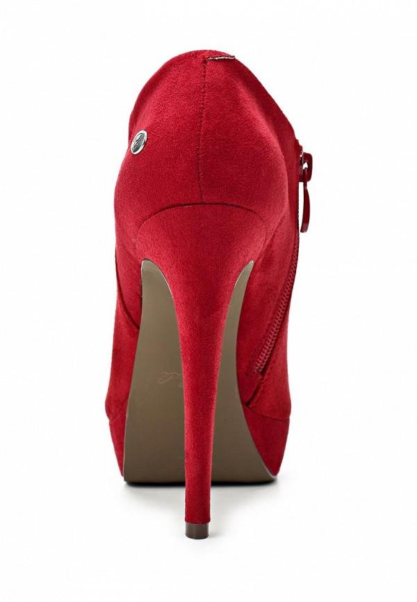 фото Ботильоны на платформе и высоком каблуке Blink BL333AWBUW10, красные