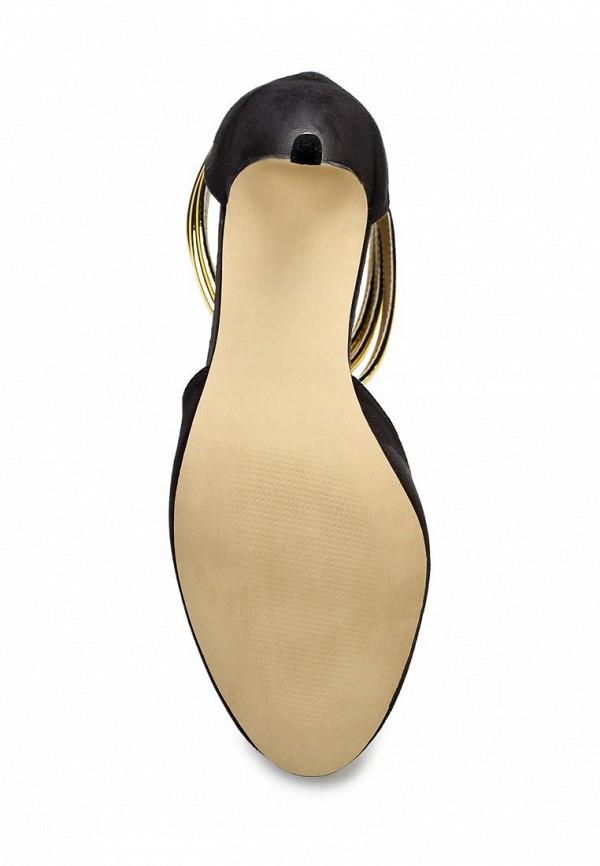 фото Туфли на каблуке Blink BL333AWLQ154, черные/золотые