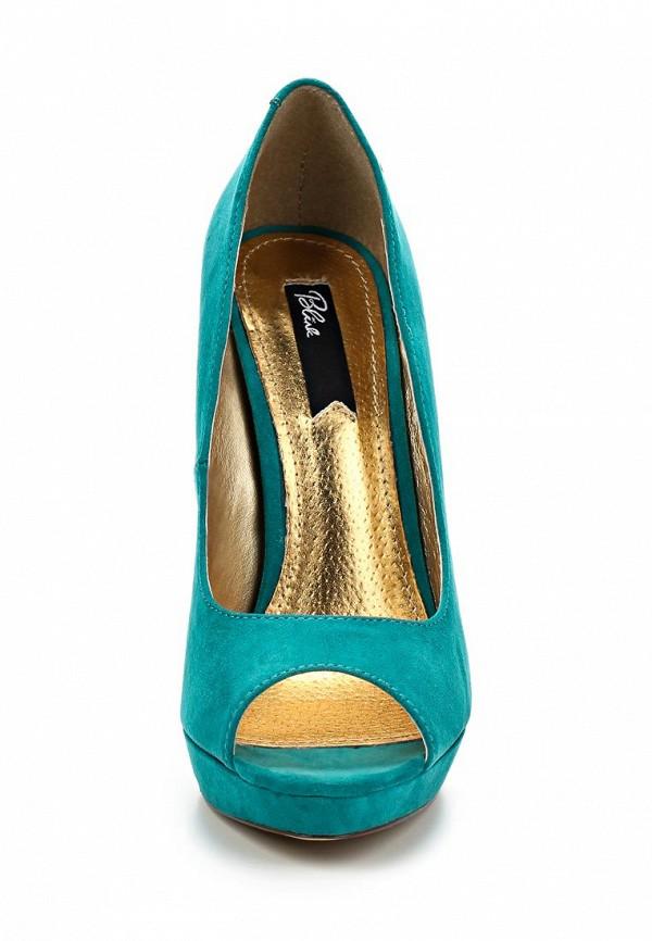 фото Туфли на платформе и высоком каблуке Blink BL333AWLQ158, бирюзовые