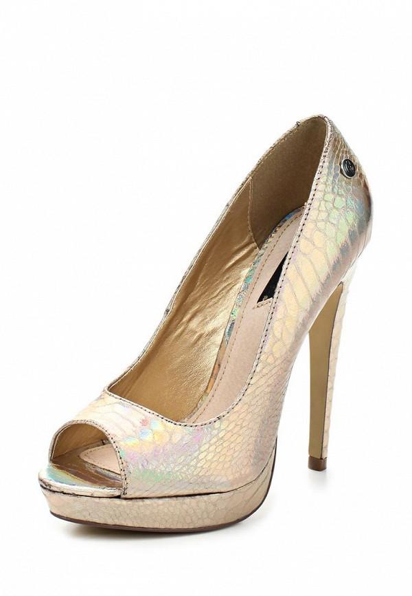 фото Туфли на платформе и шпильке Blink BL333AWLQ160, золотые