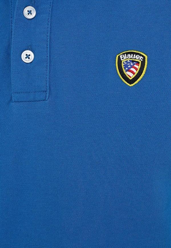 Мужские поло Blauer 14sblut02238: изображение 7